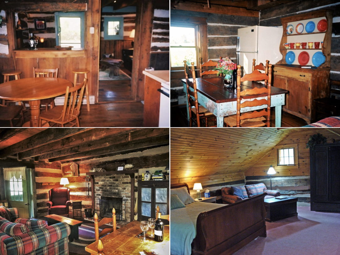 Rustic Retreat Cabins  | Shenandoah Mountains | Antonia Albano