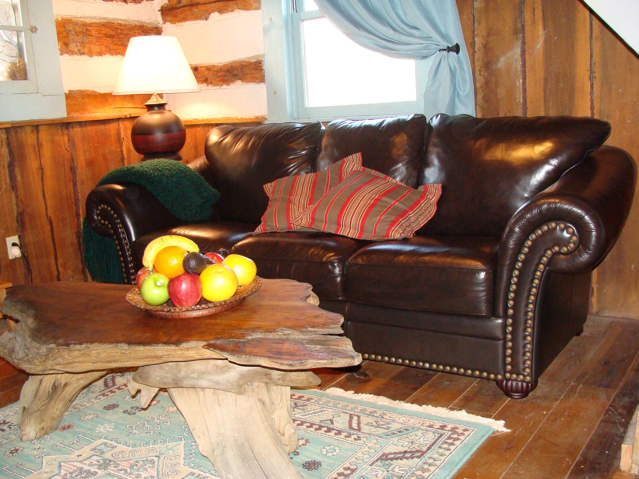 Antonia Albano   Writer's Retreat   Cabin   Living Room.JPG