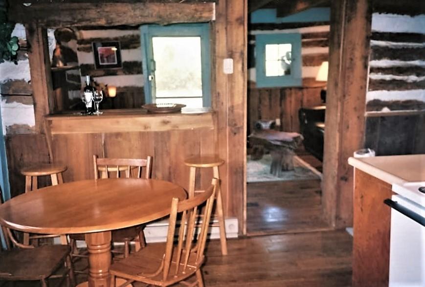 Writer's VIEW FROM KITCAntonia Albano   Writer's Retreat   Cabin   Living Space.JPG