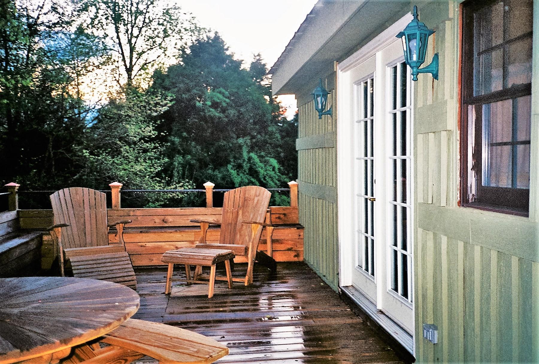 Antonia Albano Retreat   DeHart Cabin   Rear view to Master BR.jpg