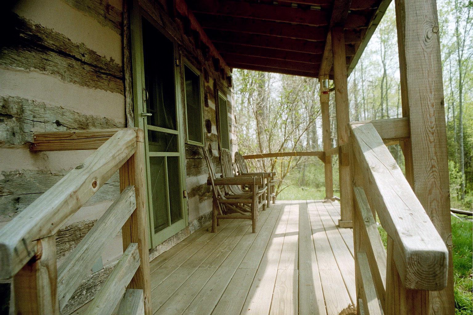 Antonia Albano Retreat   Highlands Cabin  Front Porch.jpg