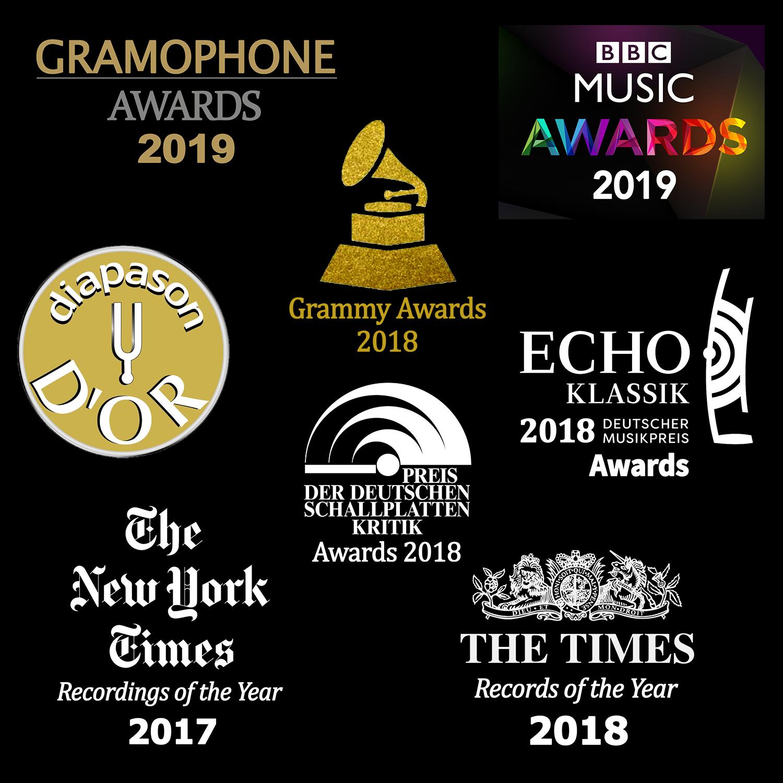 최고의 명반 - Gramophone, BBC Music, Diapason, Grammy 의 음반상 수상 앨범들과 New York Times, The Times의 올해 최고의 앨범들, 그리고 Esoteric CD 같은 한정판 초고음질 앨범을 모두 만나실 수 있습니다. 수상앨범이나 유명 매거진 추천앨범은 로고가 화면에 표시되어 쉽게 알아 보실 수 있습니다.