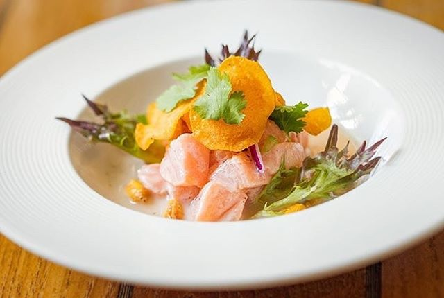 With this warm and sunny days nothing as our fresh new Ceviche created by great chef @leonardotardito .