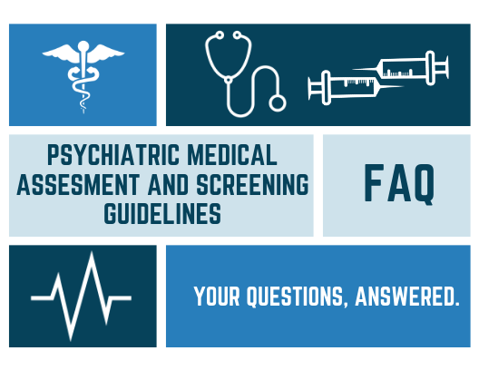 Faq Psychiatric Medical Assessment And Screening Guidelines Vacep An assessment is a consideration of someone or something and a judgment about them. faq psychiatric medical assessment and