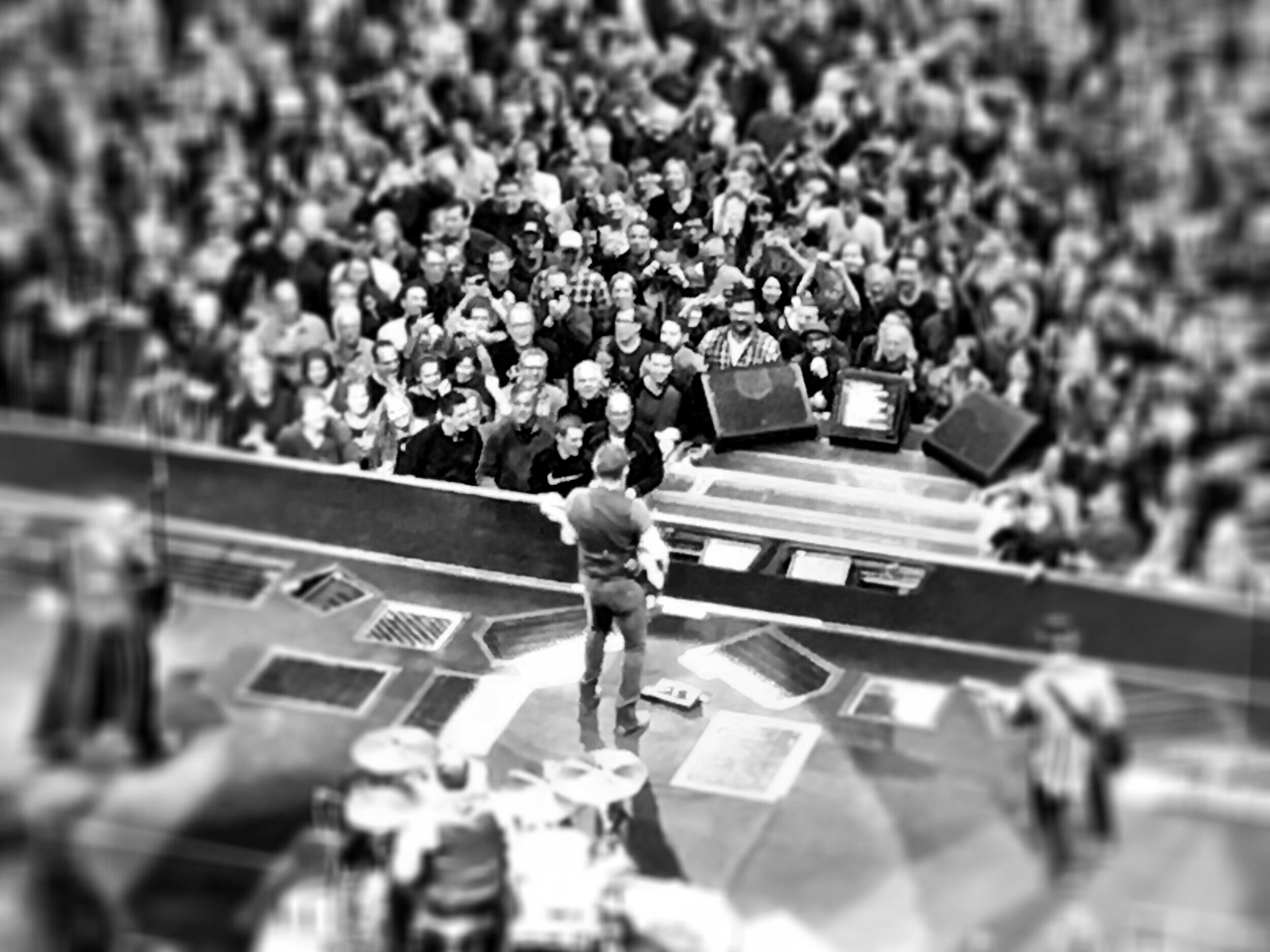 Bruce Springsteen in concert. (Photo by Scott P. Richert)