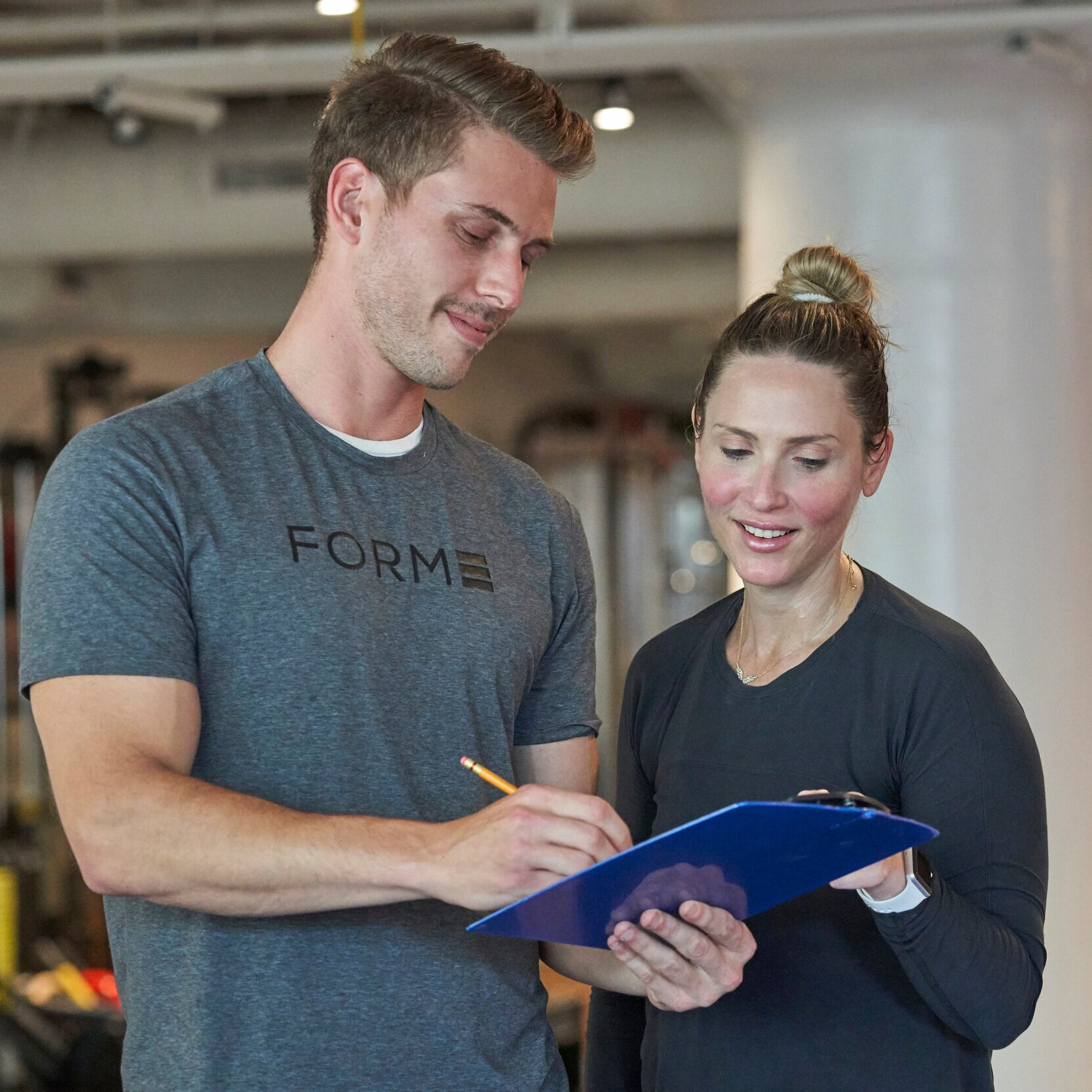 NEXT—WE DESIGN YOUR PLAN - Real metrics lead to real results. Our trainers combine data from your 1 hour fitness assessment with information about your lifestyle to build a program that is specific to you.