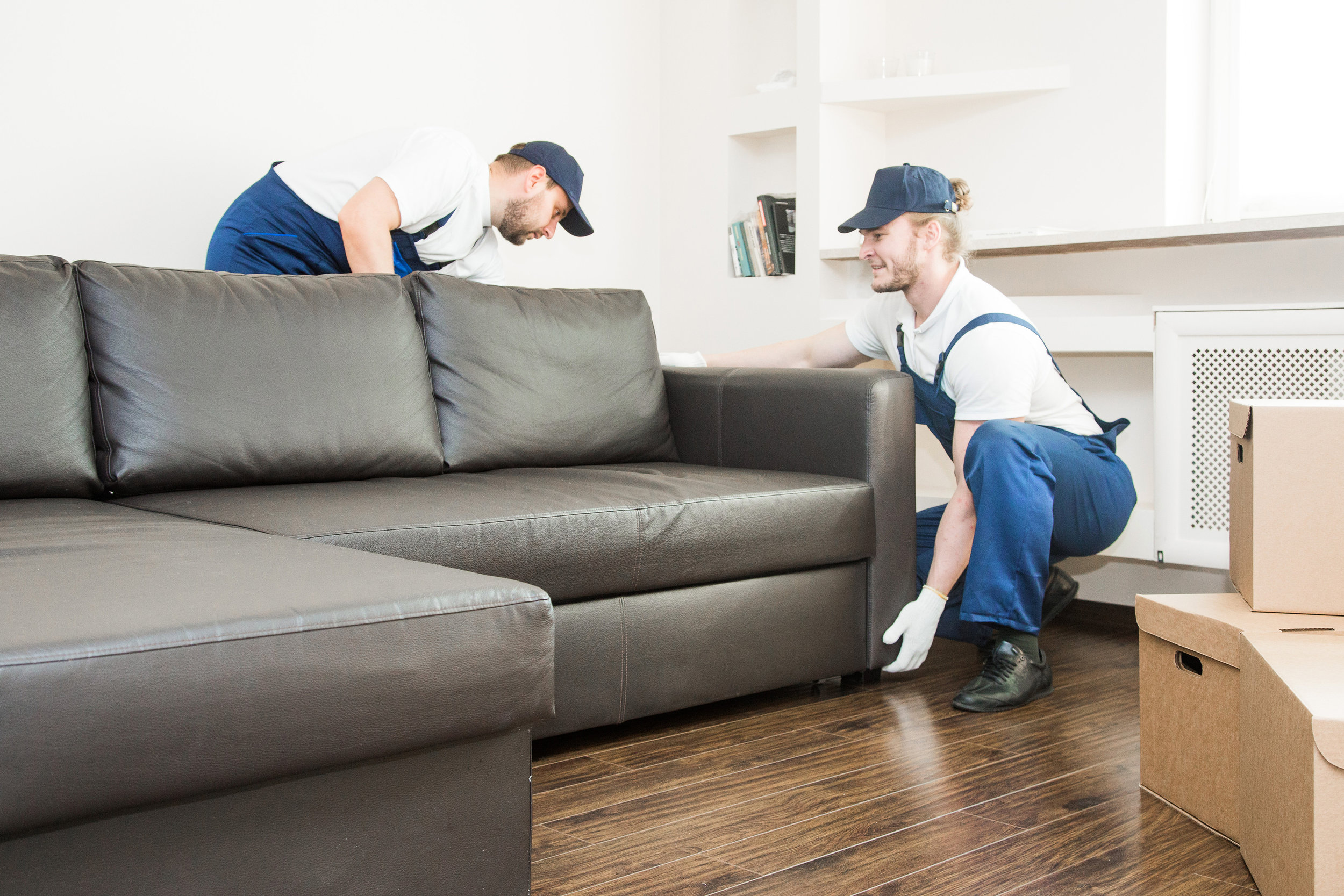 Interviewing, scheduling, and overseeing movers - We help you choose a mover and work with them on all the details leading up to your move and on moving day.