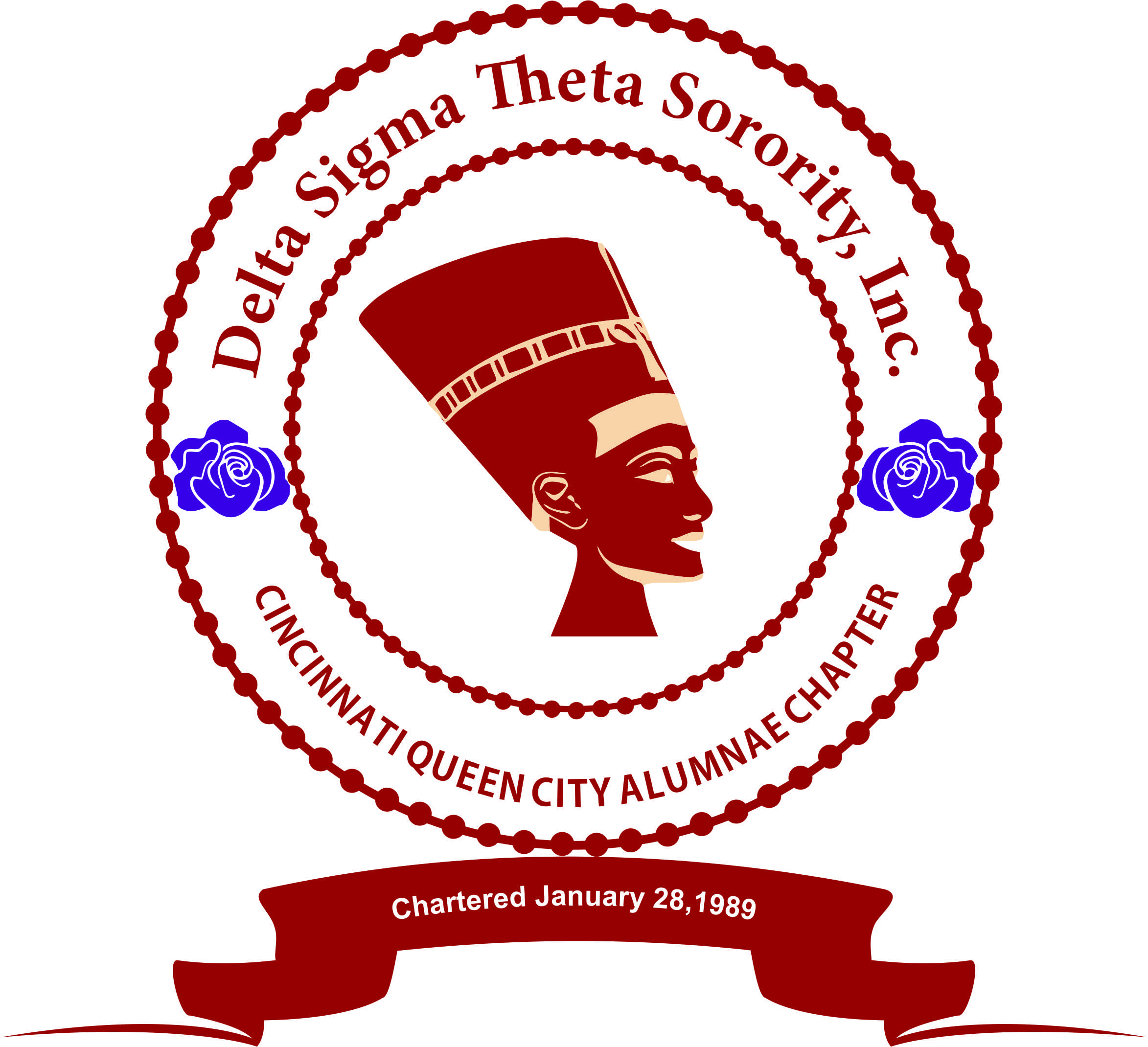 - The Cincinnati Queen City Alumnae Chapter of Delta Sigma Theta Sorority Inc. provides exemplary public service programs to benefit the Greater Cincinnati community. Our dedicated and committed members are steadfast in providing public service programs that support educational development, political awareness and involvement, physical and mental health, international awareness and involvement, and economic development. With a commitment to Sisterhood, Scholarship, and Service,we uphold the ideals of our founders as we carry our rich heritage and legacy into the 21st century.