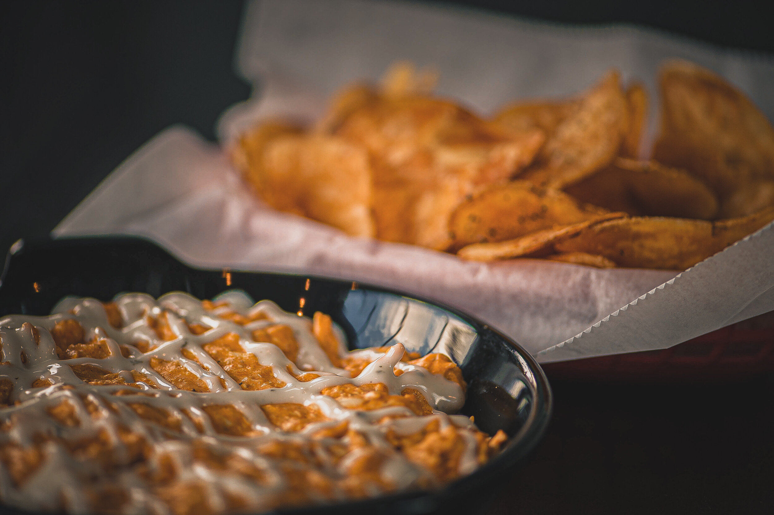 Gameday - Score big and scoop up our Buffalo Chicken Dip!UC & FC Games + Bogart's Concerts | 11am–9pm