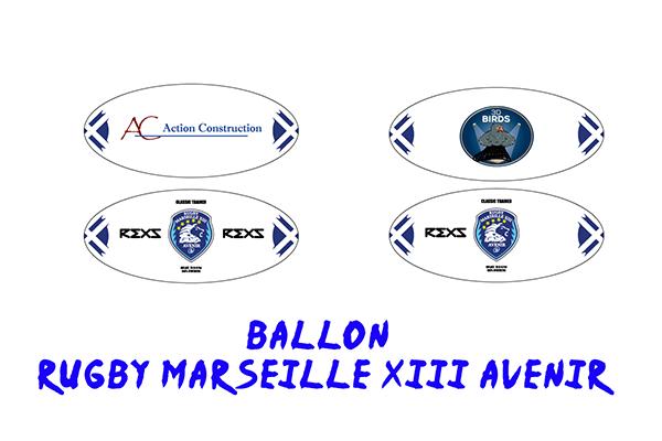 ballon rugby marseille xiii avenir