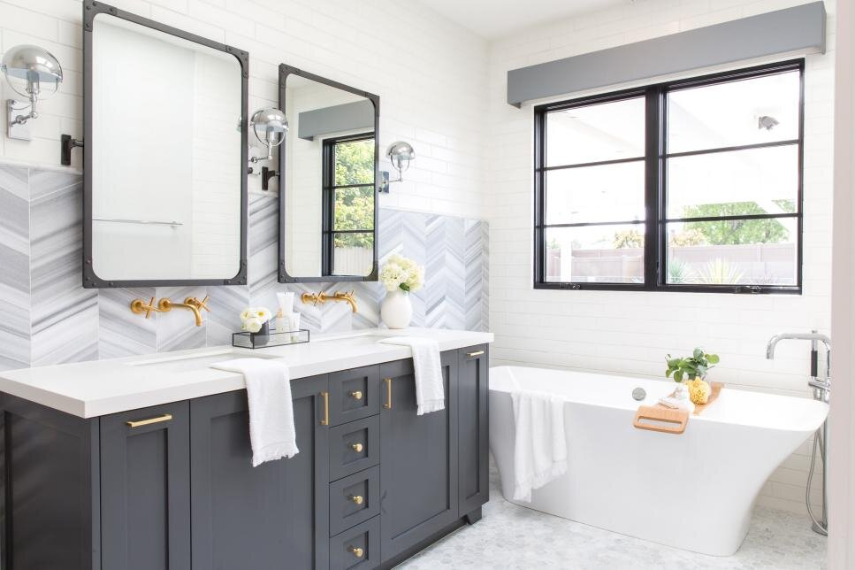 7 Must See Bathroom Makeovers Emanuelle Design Nj Nyc Kitchen Cabinetry