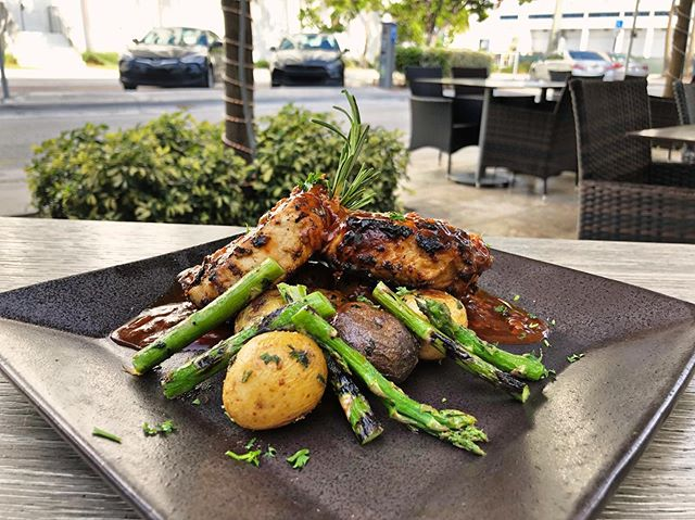 We are trying out some new flavors, our bourbon barbecued pork shops, available soon in our dinner menu. Don't miss out. Yummy😜😋