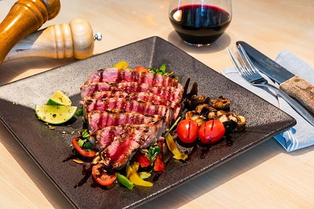 The weekend is here! Come try our weekend special!  Tuna steak with rainbow salad! With a nice cup of wine and it would a great weekend opener! - - - #fortlauderdale #fortlauderdalefoodies #southfloridafoodies #miamifoodie #lasolasblvd #fortlauderdalebeach #foodies #fortlauderdalemagazine #fortlauderdaleeats #miamibeach #soflofoodie #datenight #tunasteak #floridachef #wyndwood #wyndooswalls #fortlauderdalerestaurant #mustdoflorida #fortlauderdaleevents #southbeach #seafood #tasty #foodphotography #foodcontent #miaminights #fortlauderdalerealtor #dinnerspecial #aventurafl #redwine #winenights