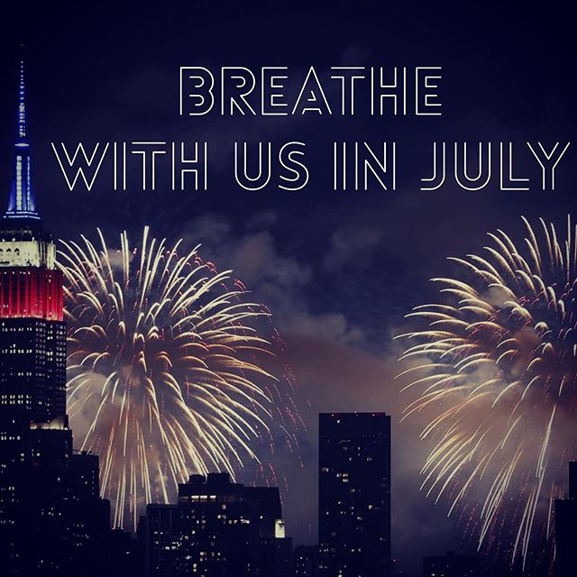 Wishing you a happy and safe 4th of July! 🇺🇸 We're excited to offer FOUR opportunities to breathe with us in July, and we're even doing a little dividing and conquering this month.  Friday, July 12th - Stephen is leading in NYC @fivepillarsyoga  and Chris is in DC @sense.dc .  Saturday, July 20th - Stephen and Chris take on the Hamptons at Five Pillars Yoga Water Mill  Thursday, July 25th - Chris is leading in NYC @yogacollectivenyc .  Link in bio for info and tickets. We hope to see you soon.  And reach out if you'd like a private one-on-one breathwork session with either of us. And to boot, Stephen offers Feng Shui counseling, and Chris offers astrology readings!  #breathwork #capricornrisingbreathwork #fivepillarsyoga #sensedc #yogacollectivenyc
