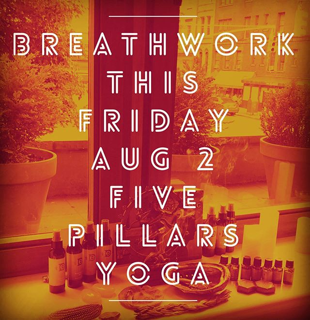 Join us for breathwork this Friday August 2 at 7pm at beautiful @fivepillarsyoga Let's keep celebrating summer together and see what explorations this practice has in store for us!  Link in bio for more details and to snag your spot. We hope to see you there!  #breathwork #fivepillarsyoga #capricornrisingbreathwork