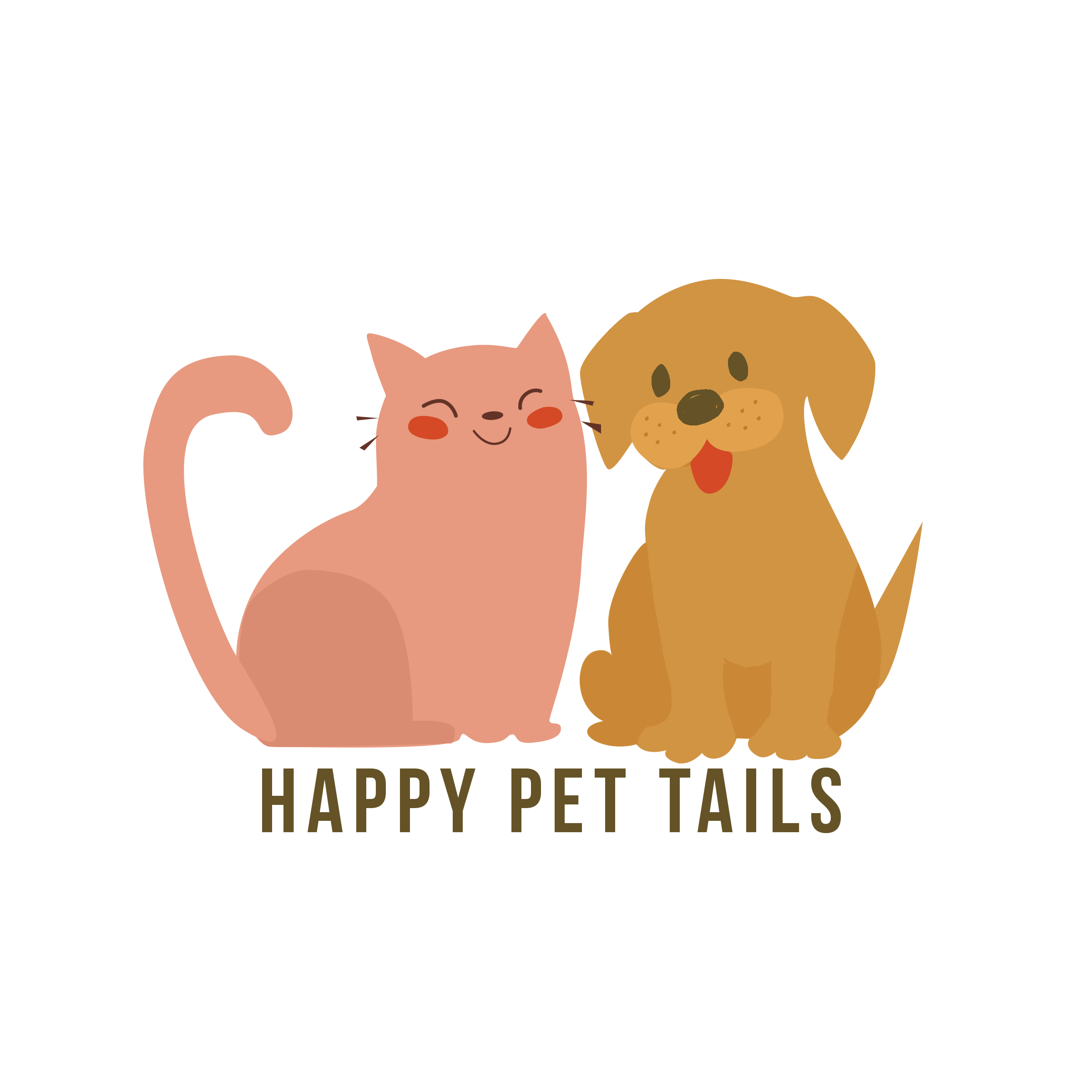 Logo Design for Happy Pet Tails company