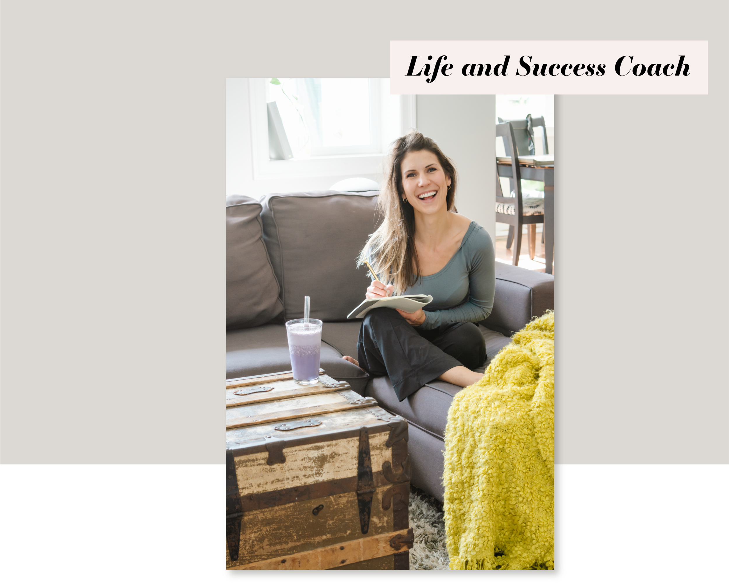 Hey, I'm Justine! - I'm a Transformational Life and Success Coach, Wife and mom of two. I am deeply passionate about using my experience in life, motherhood, and business as torch to inspire and guide others.