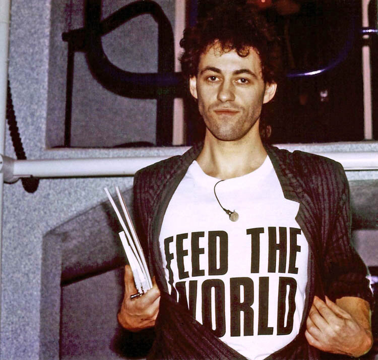 2. Bob Geldoff - Band Aid recording session.jpg