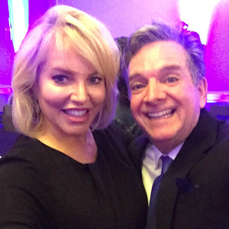 Lisa Marie Wark and Dr. Jon Grazer
