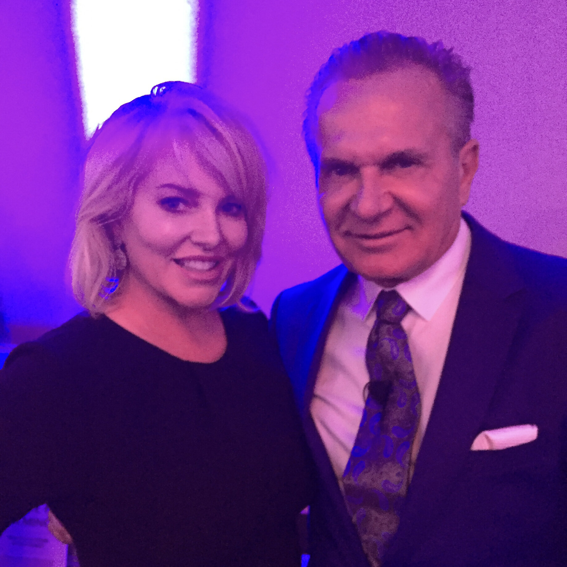 Lisa Marie Wark and Dr. Andrew Ordon