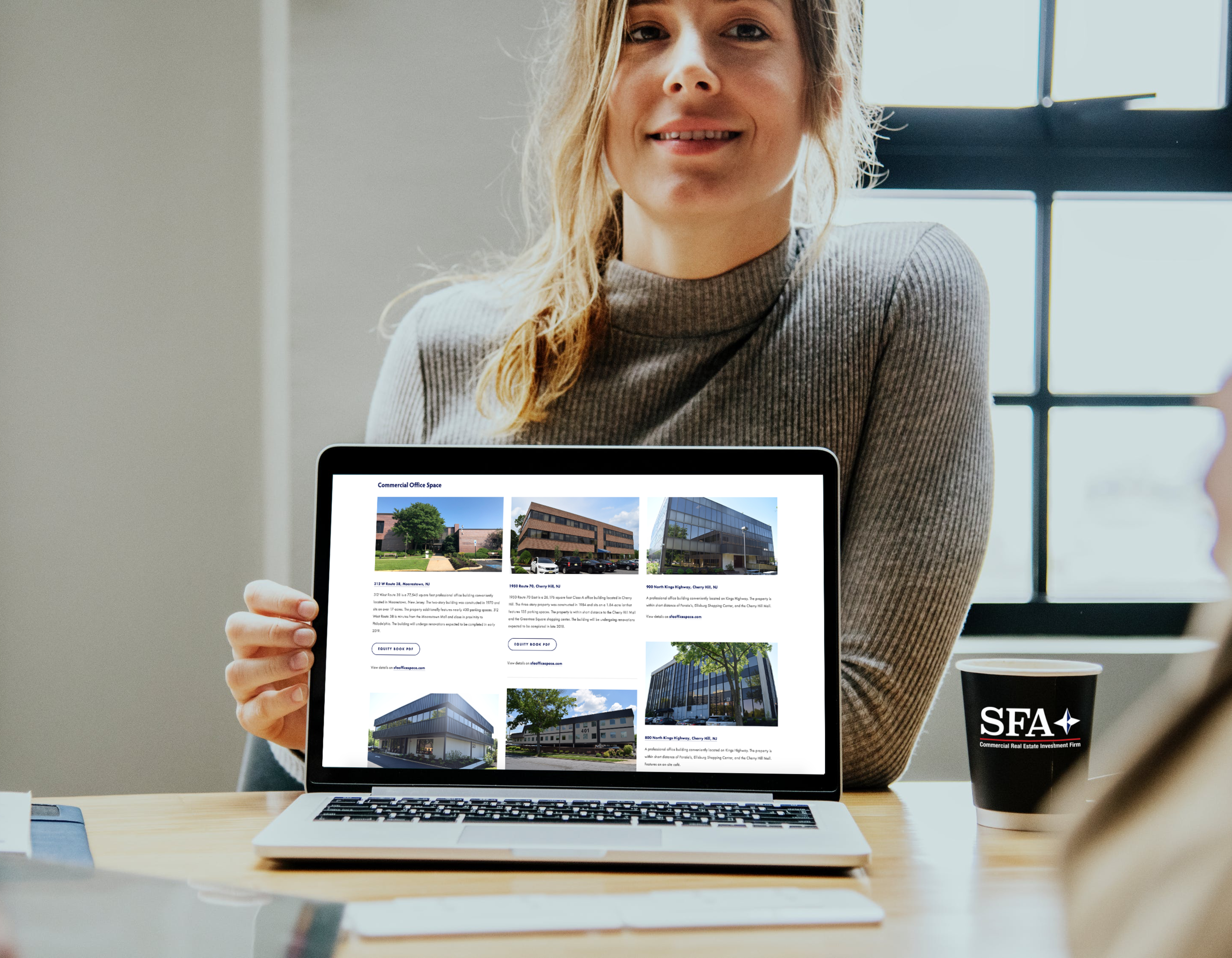 Find your office space with SFA -