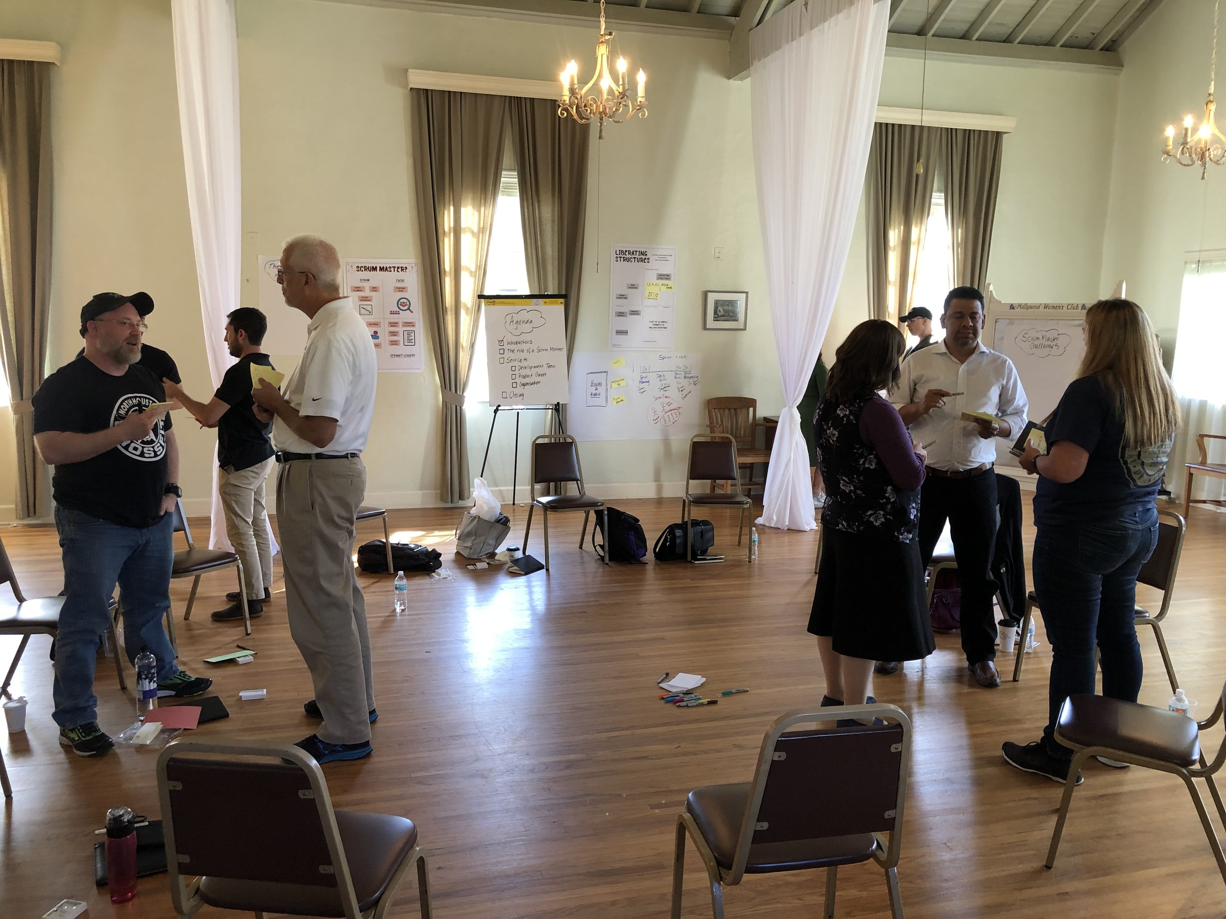 The Training - Agile Leadership Certification is hands-on, practical and covers leadership development, culture, agile transformation and evidence based management topics to name a few.