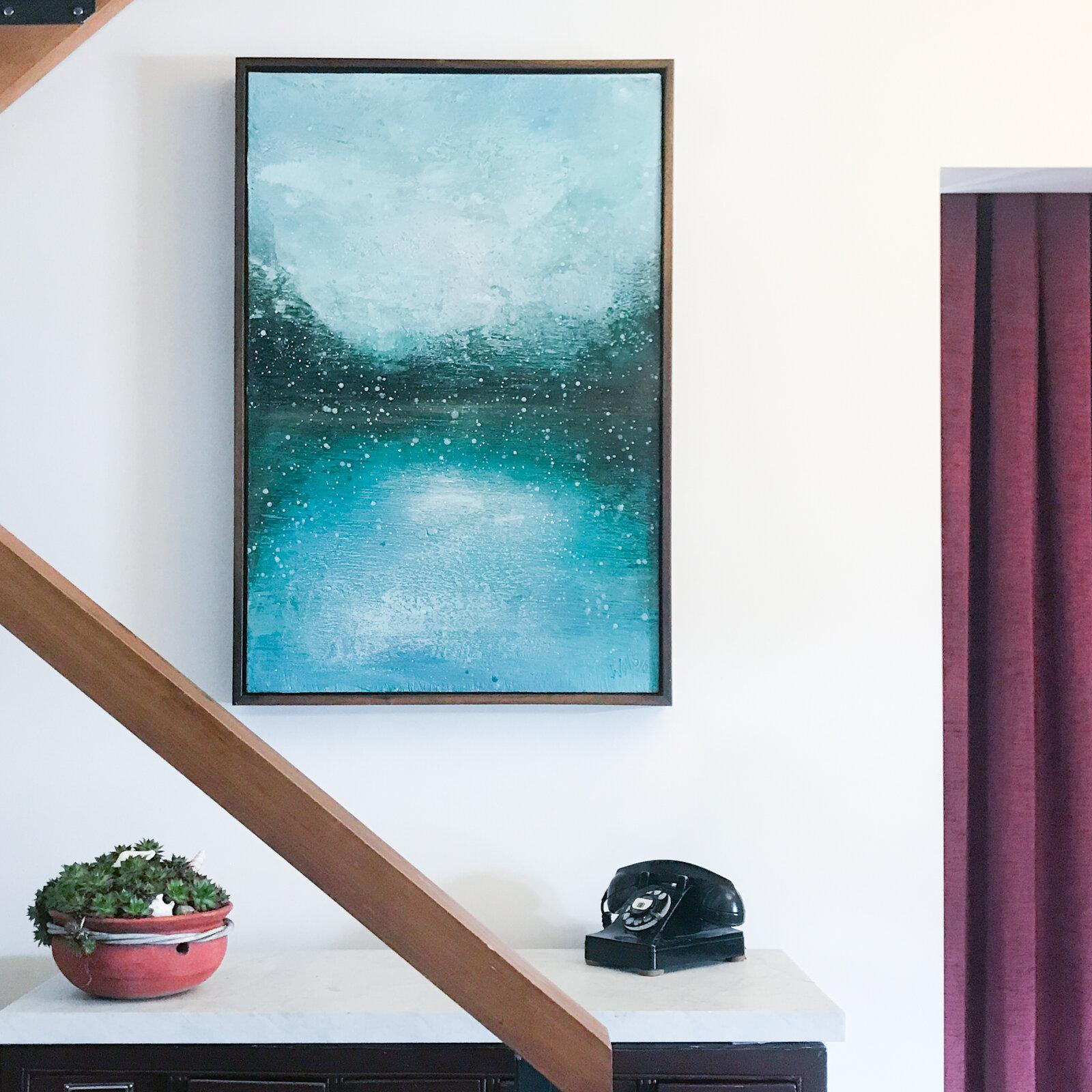 Susan Wallis artist - Winter's Soft Prelude