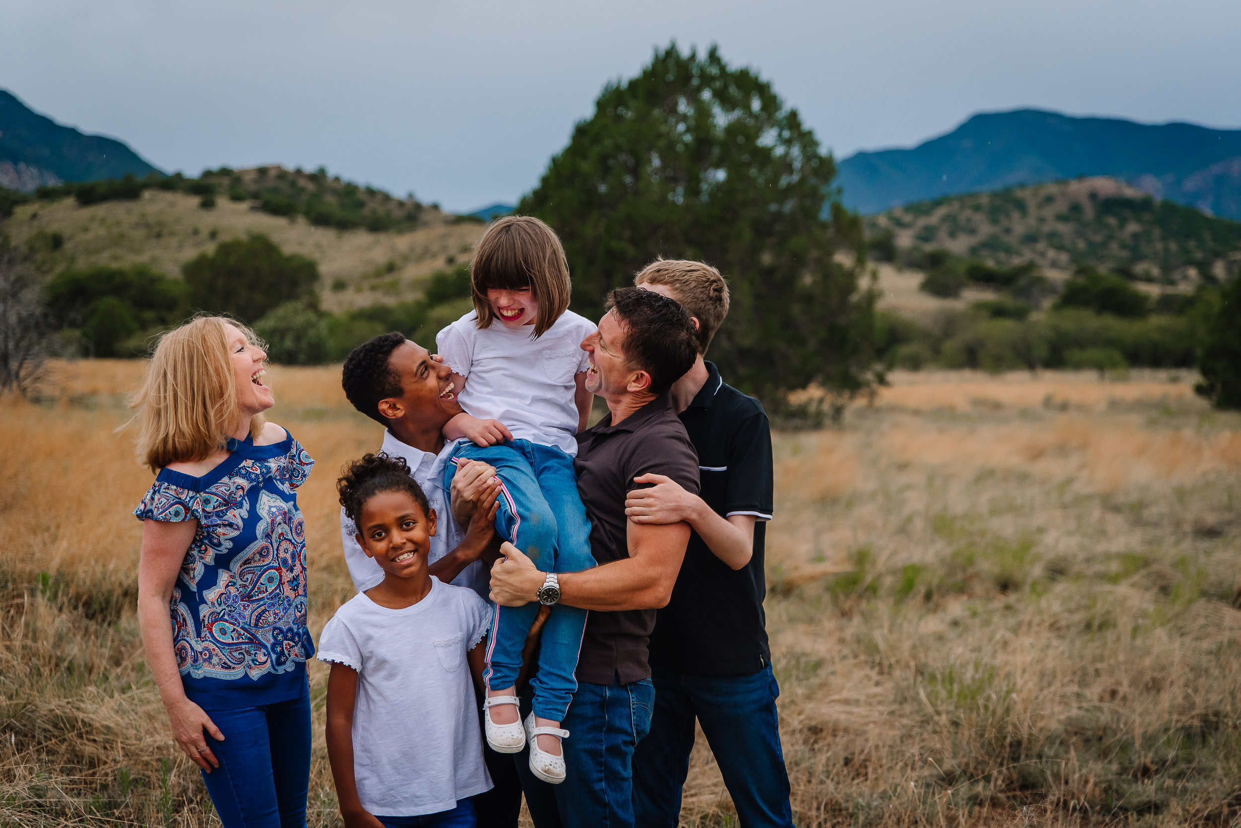 Craig + Nuala - For years my family and I have been visiting Arizona and have always wanted to have family portraits taken. This year after seeing wedding photos taken by Hannah, we knew that Hannah was the one for the job. Hannah directed us to a beautiful location and captured moments that our family will treasure forever. Hannah is such a delight to work with, especially with children. We are so delighted with our photos and the special moments in time that Hannah has captured. Thank you so much Hannah for creating memories that we will forever treasure.