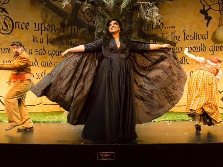 into the woods - The WitchSt. Petersburg Opera2017