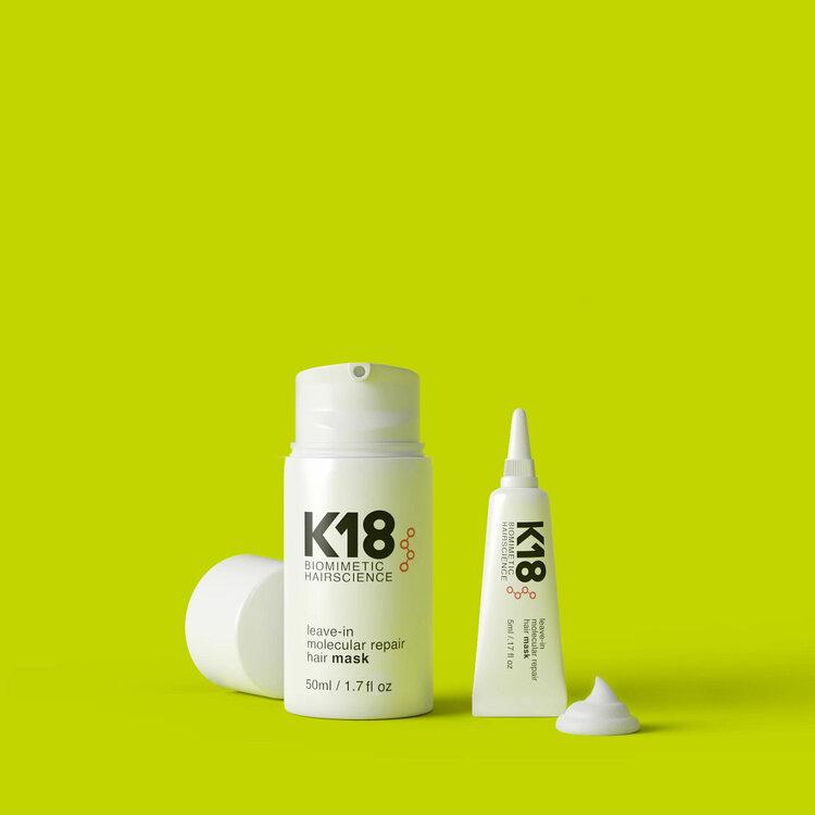 K18 At Home - Hair Mask 50 ml & 5 ml