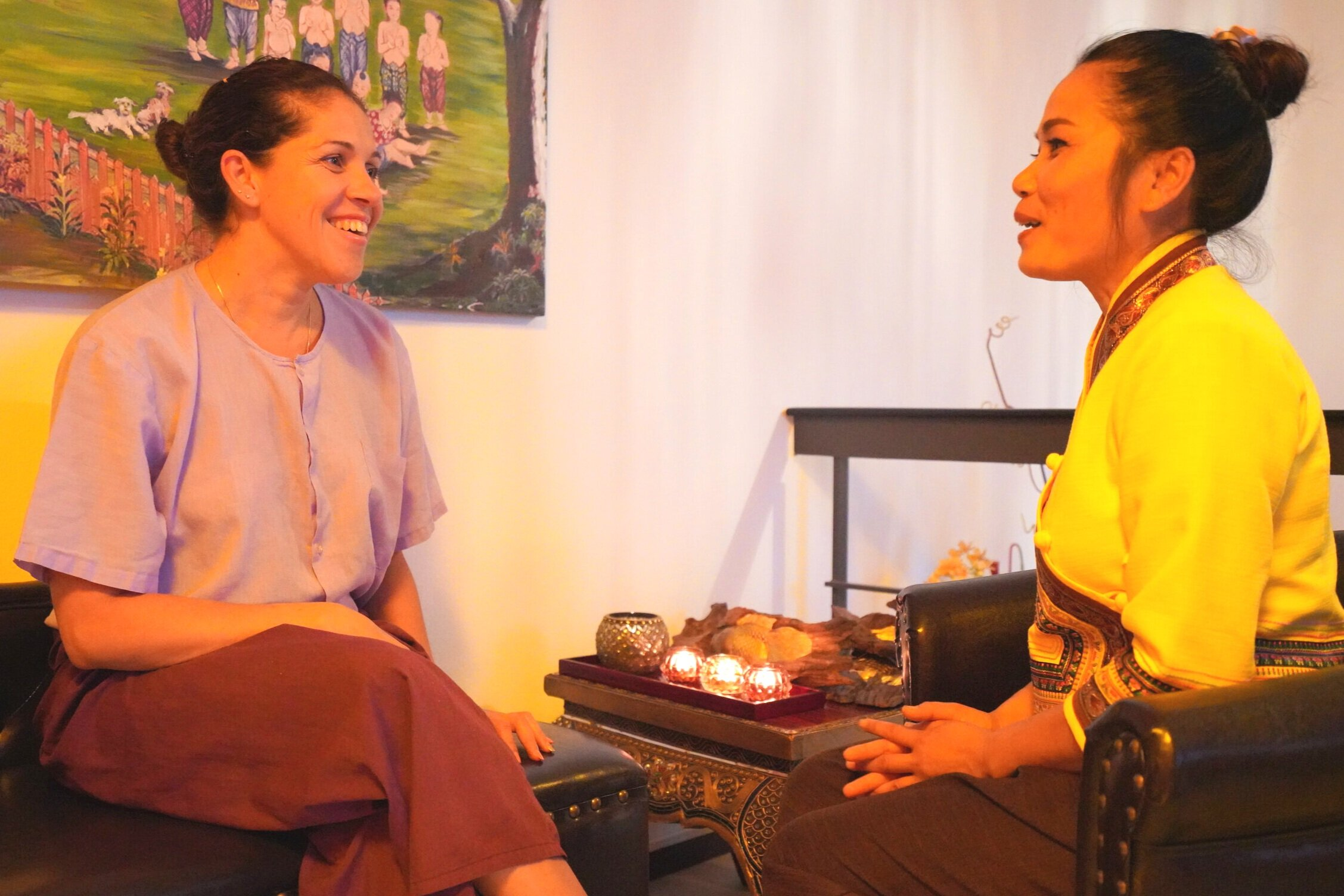Ihre Bedürfnisse - In einem gemeinsamen Gespräch erfassen wir Ihre heutigen Bedürfnisse, damit Sie sich entspannt auf Ihre Massage einlassen können.