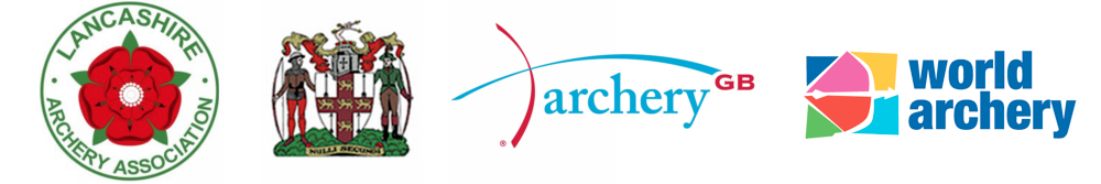 Lancashire Archery Association, Northern Counties Archery Association, Archery GB & World Archery