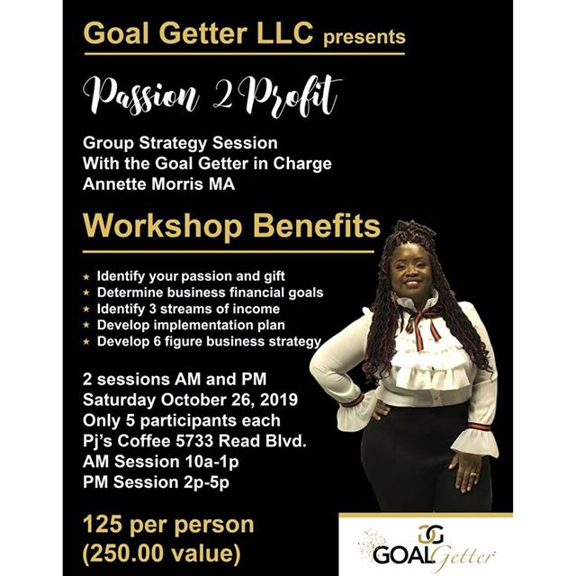 "Did u say 2019 was your year?  Then you still have a lot of time left to accomplish your goals for the year and accelerate your business!! Let Goal Getter LLC. Help u to set the path to 2020 ablaze!  Let's Goooo  Comment ""Im Ready"""