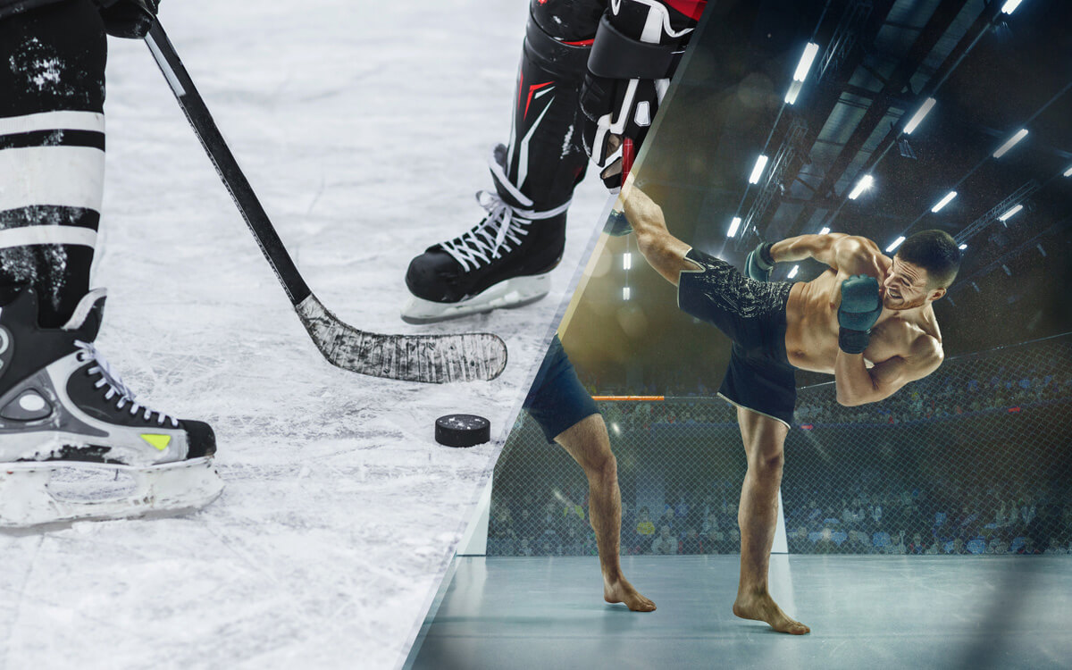 Professional Hockey & Mixed Martial Arts Challenges -