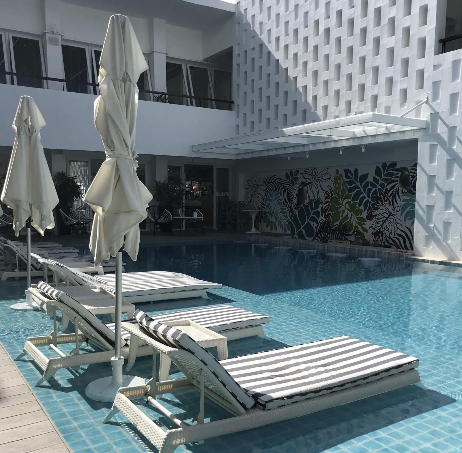 A perfect pool at COAST