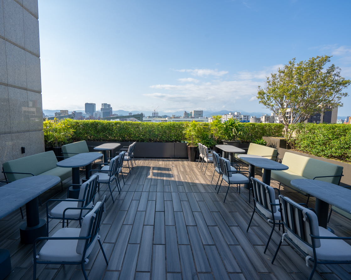 Rooftop views at Kimpton Da An