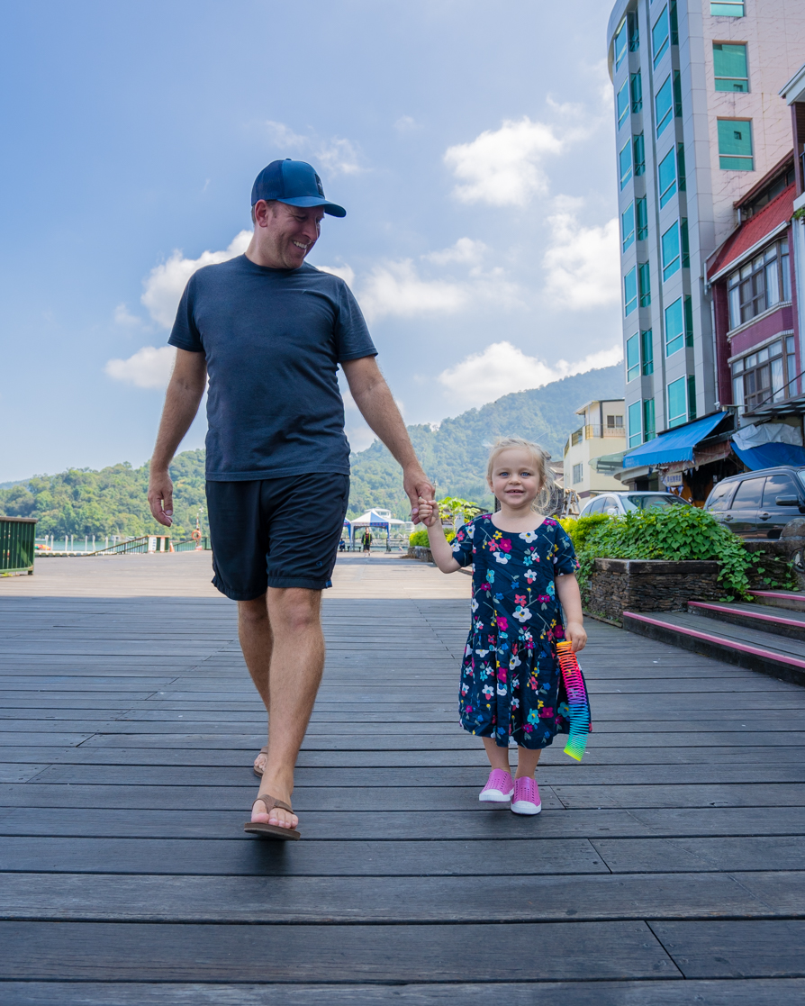 Strolling through Ita Thao on Sun Moon Lake