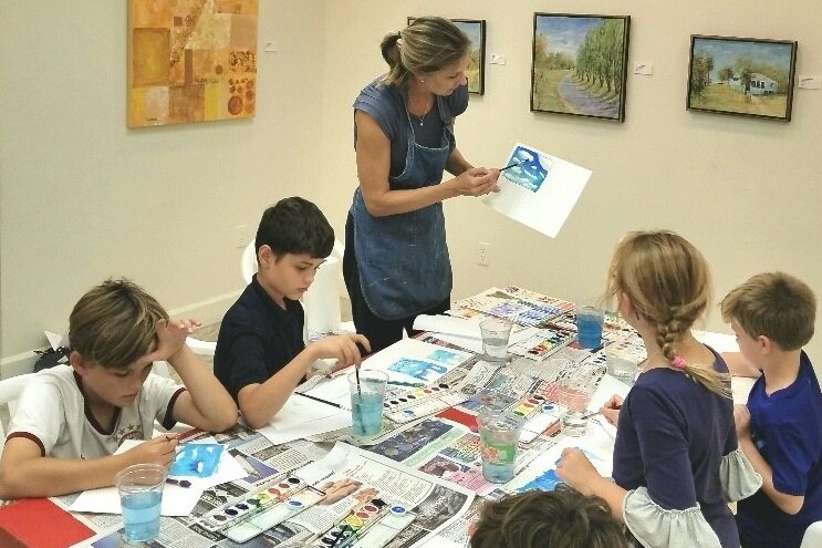 Instructional Art Classes - We offer a number of educational classes from local talented artists. Some of the upcoming classes this year will include kid's art, adult watercolor and Gyotaku: The ancient Japanese art of printing fish. More information to come!See community classes →