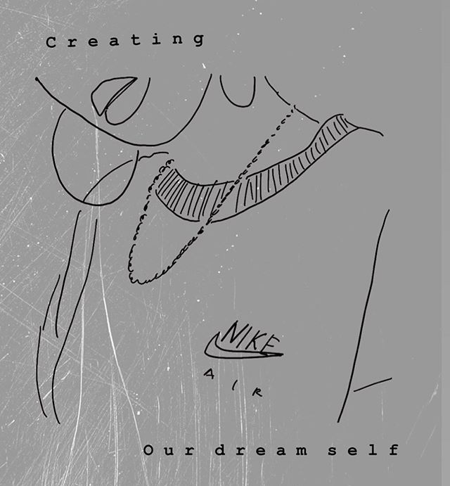 Today's mini tutorial is all about creating line sketches. I love simple sketches because they allow you to express yourself in a whole new way. Be whoever you want to be, create your dream self... check it out on stories 👩🏽🎨