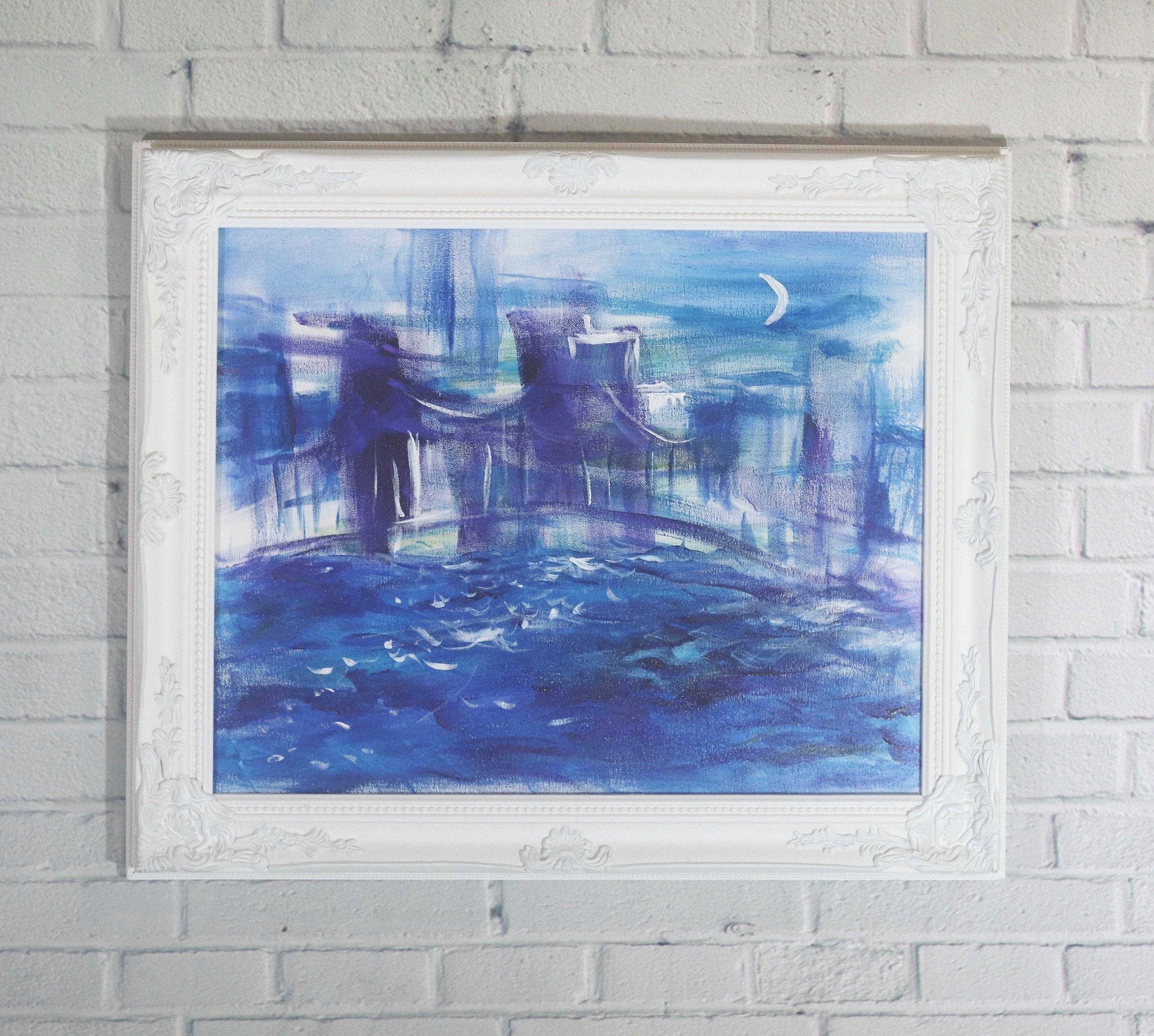 Concrete 16x20 Acrylic on Canvas