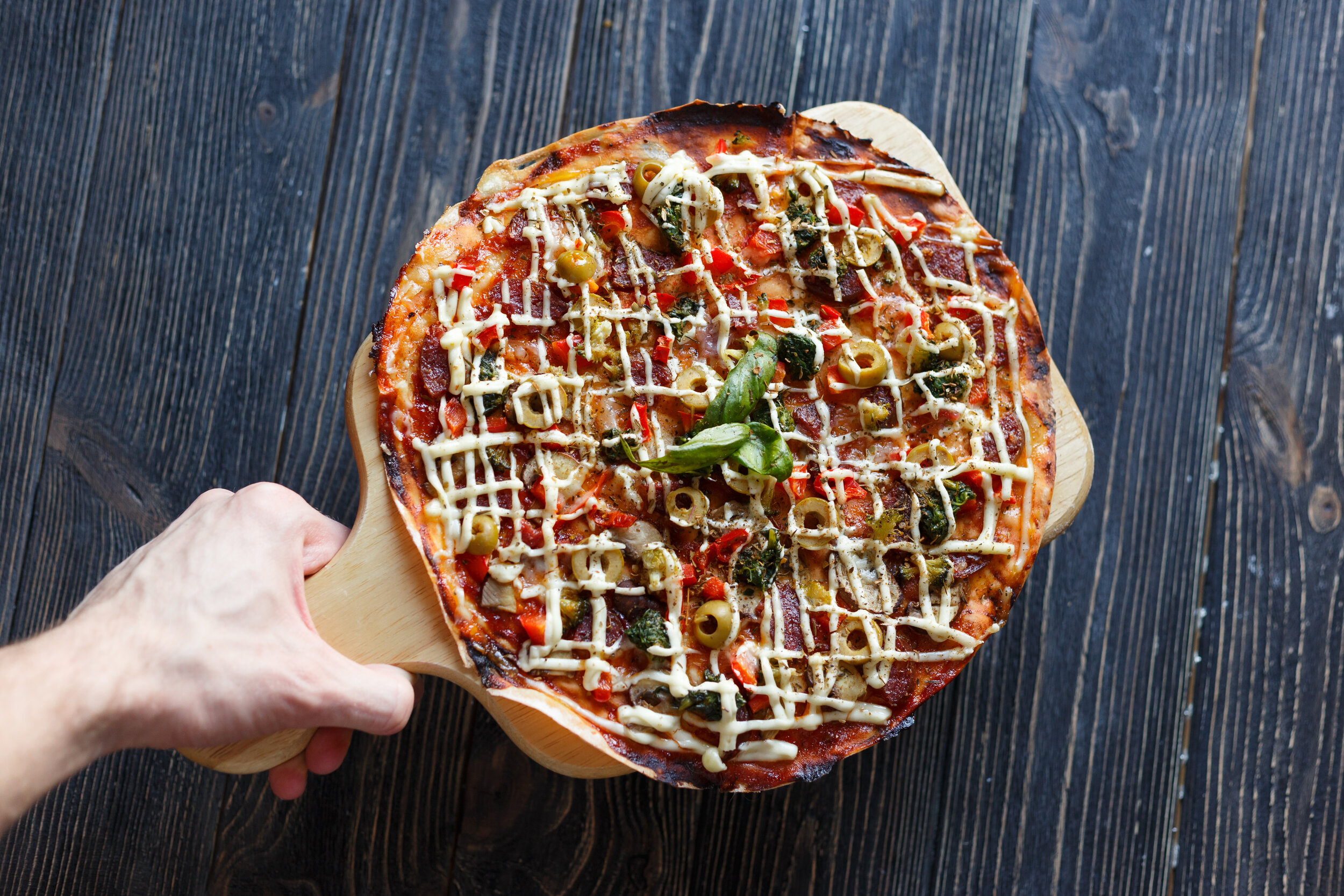 YOU WANT PIZZA? - Avg. slice of pizza is 260 Calories!