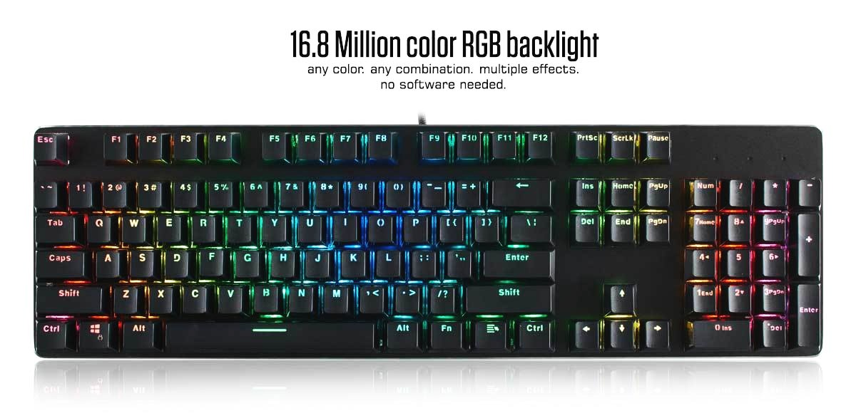 GLORIOUS MODULAR MECHANICAL GAMING KEYBOARD -