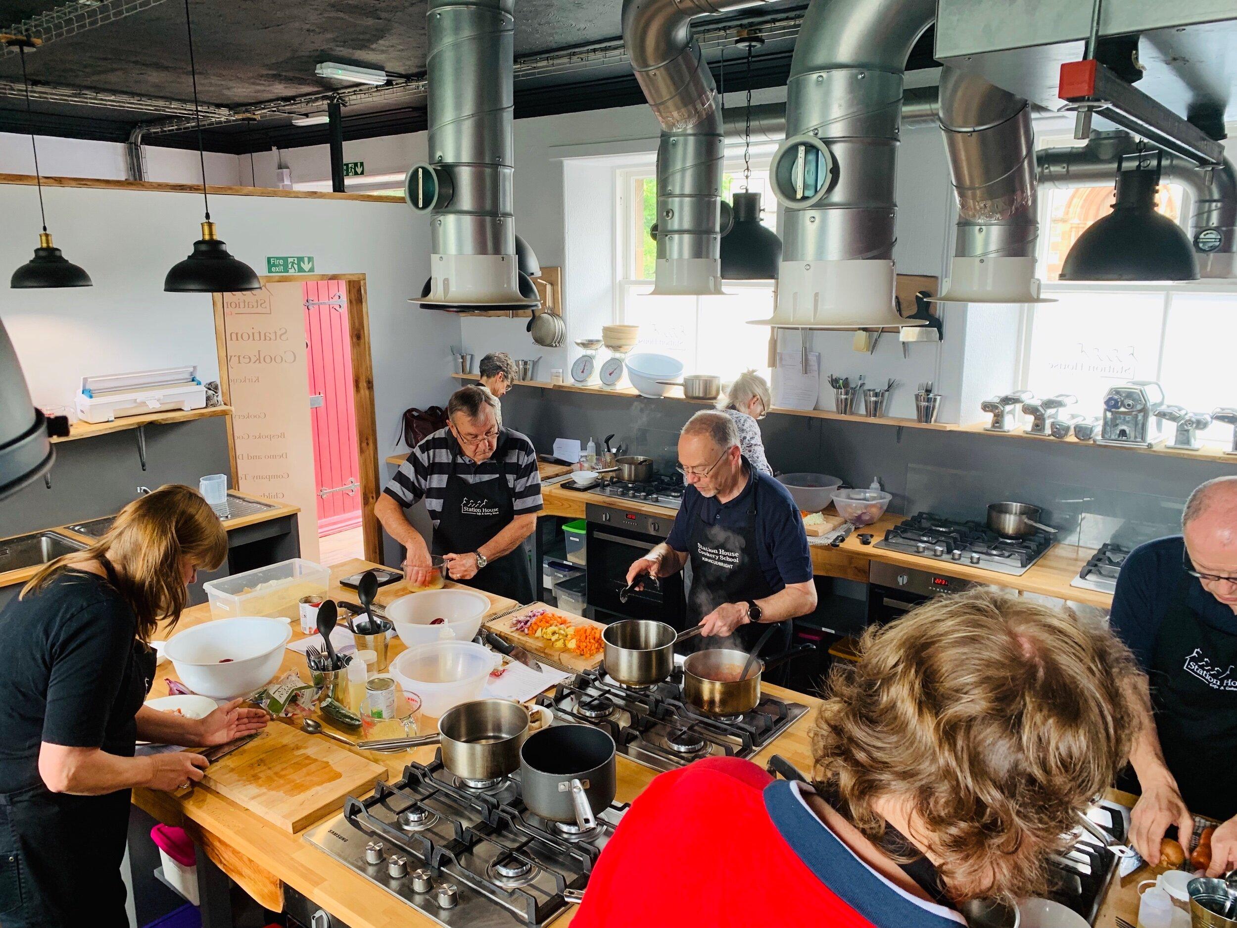 Cookery School Kitchens.