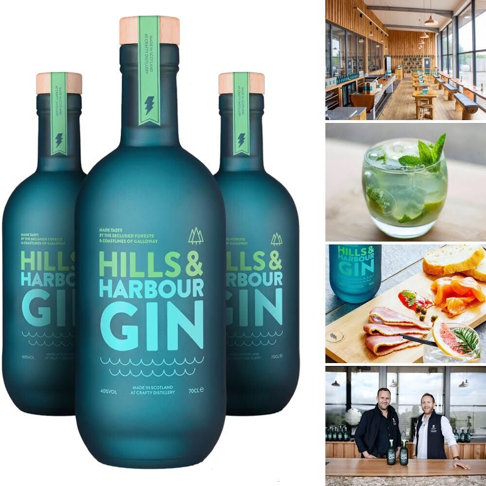 Crafty Distillery - Crafty Distillery produce the highly prized and highly delicious Hills and Harbour Gin. They are one of the very few Craft Gin producers who begin by making their own spirit and then use locally sourced botanicals to create a truly unique experience. Station House have joined forces with Crafty in delivering bespoke Gin and Canape Evenings!