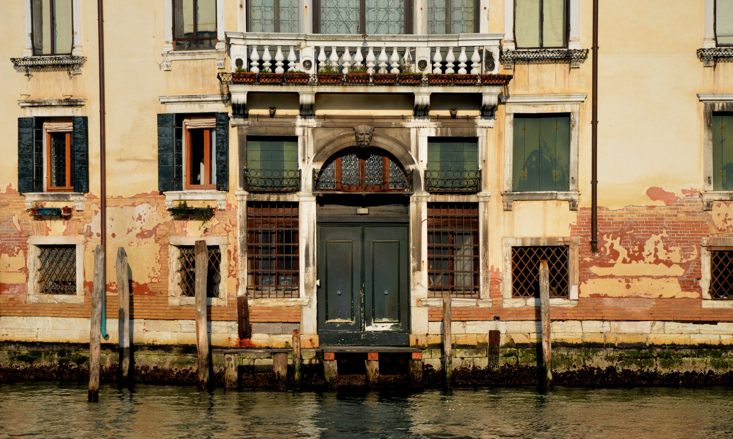 Decaying Palazzo, Venice
