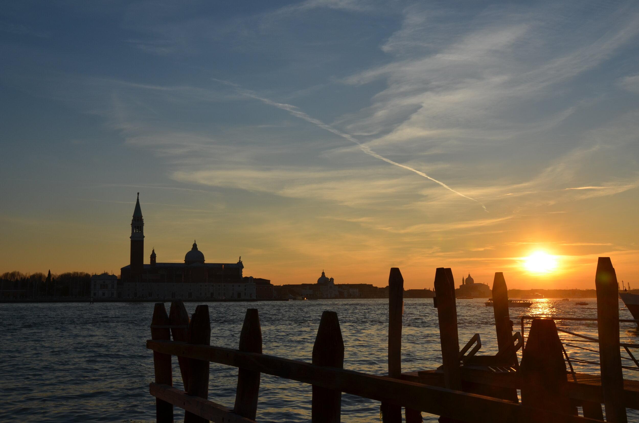 San Giorgio Maggiore Sunset, Venice