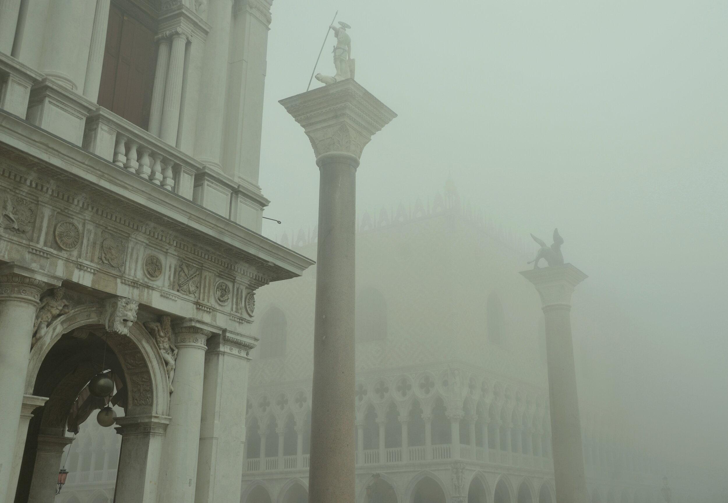 Mist at the Doge's Palace, Venice