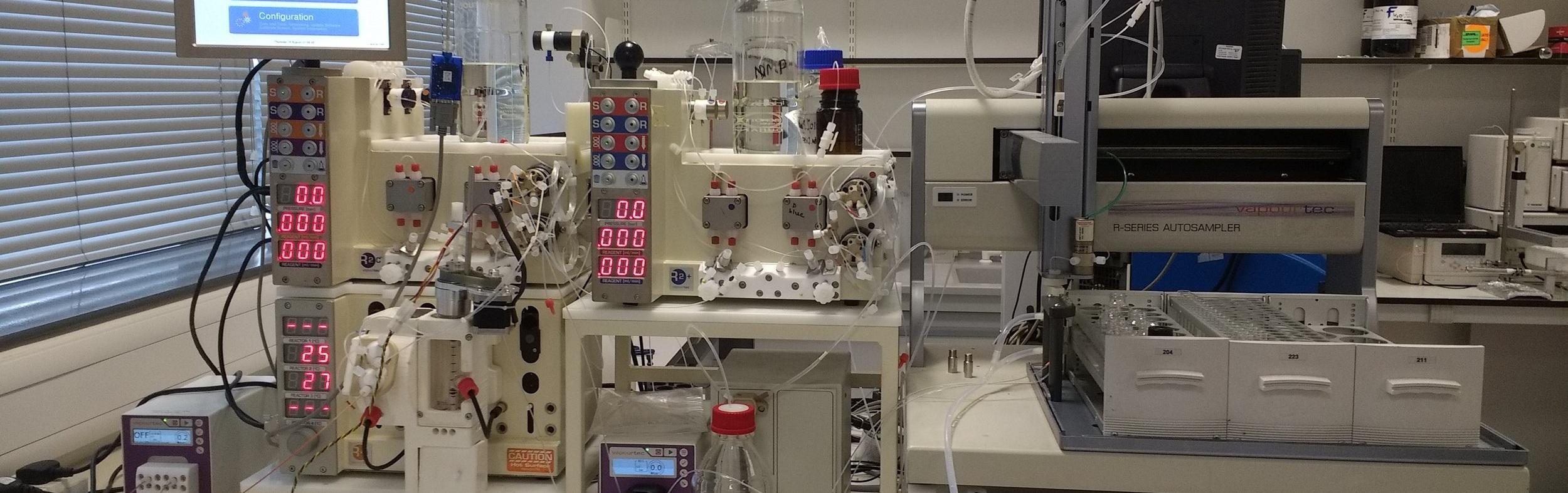 New Path Vapourtec Flow Peptide Synthesis Platform