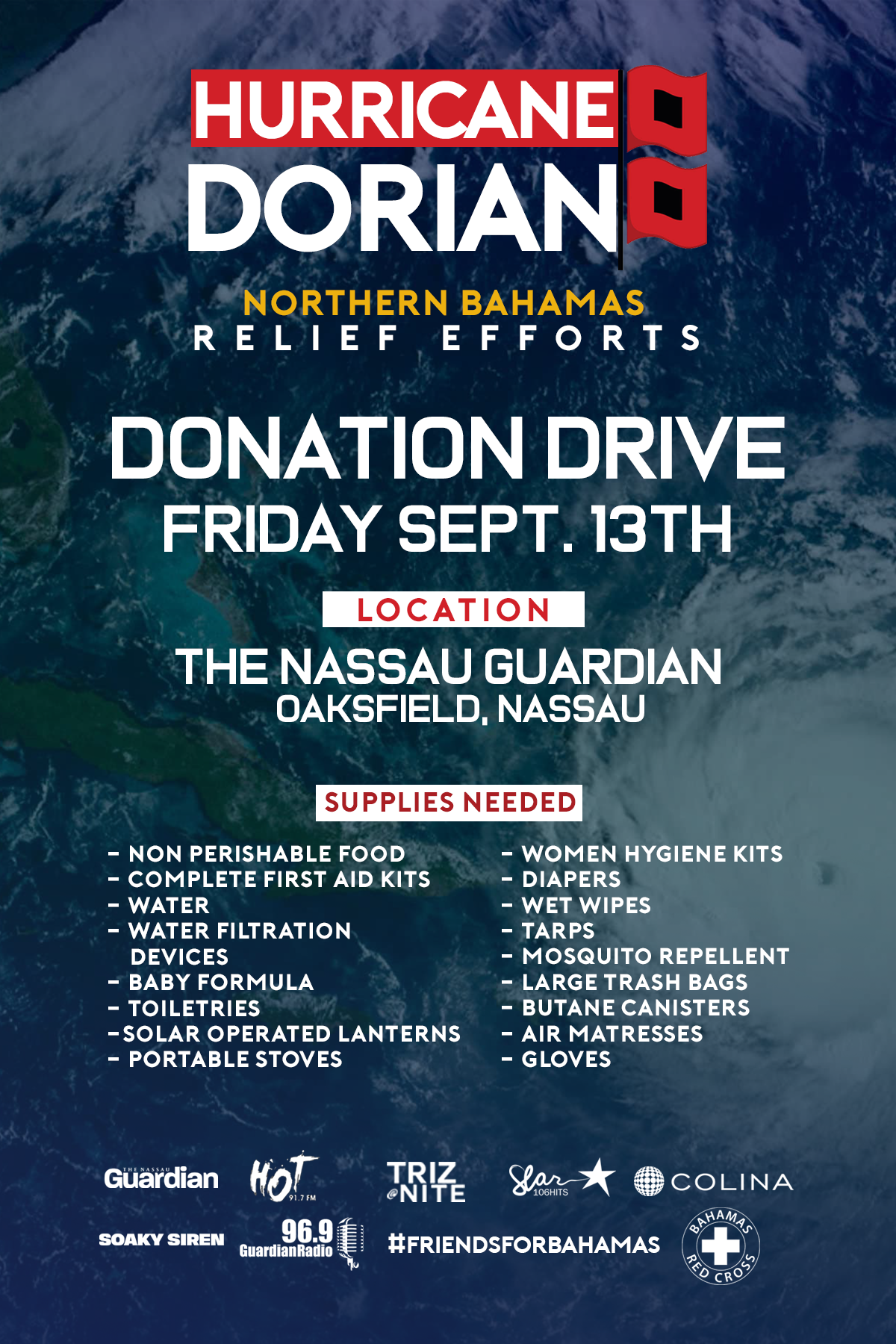 FRIDAY,SEPT 13TH— - NASSAU GUARDIAN 7AM UNTIL