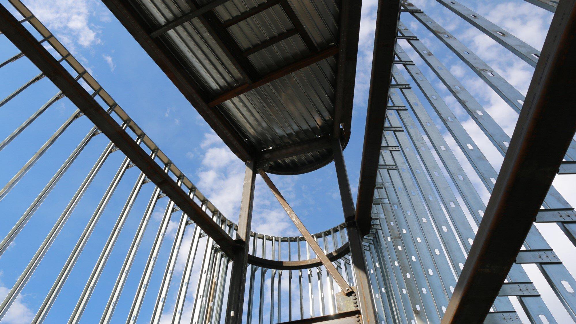 Exterior Metal Gauged Framing
